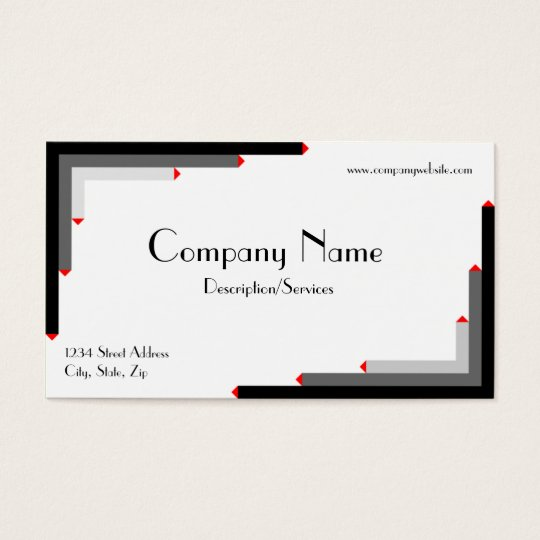 Deco Style Business Card