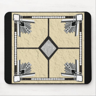 deco tile mouse pad