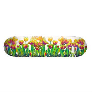 Deco Tulip Garden Skateboard