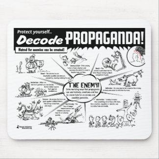 Decode Propaganda Mouse Pad