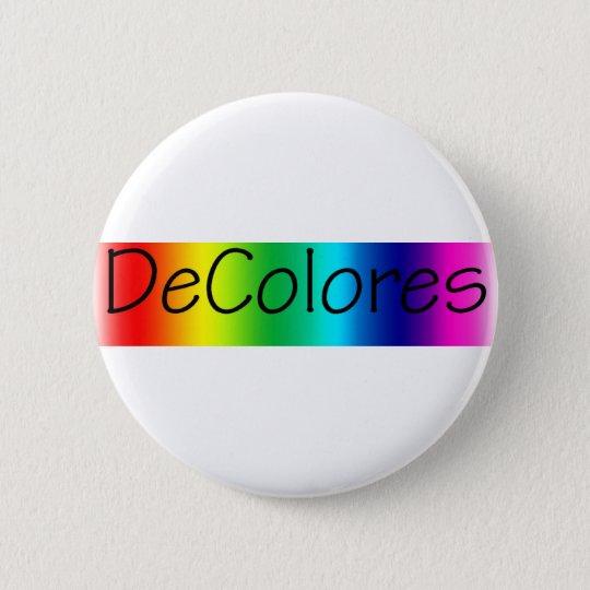 DeColores 6 Cm Round Badge
