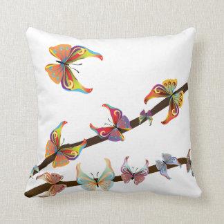 Decor Butterflies American MoJo Throw Cushions