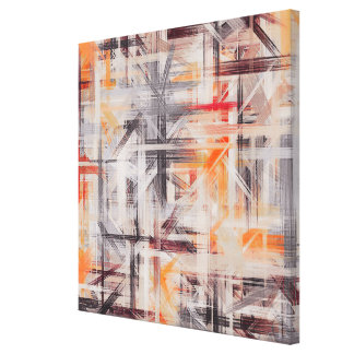 Decor Painted Abstract Background Canvas Prints