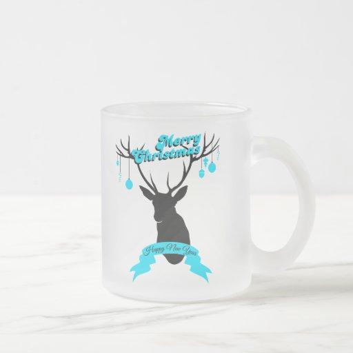 Decorate to you to deer, Merry Christmas Coffee Mug