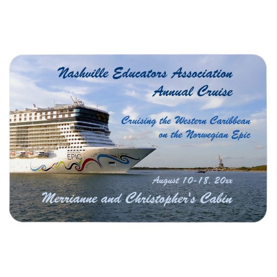 Decorated Bow Custom Stateroom Door Marker Rectangular Photo