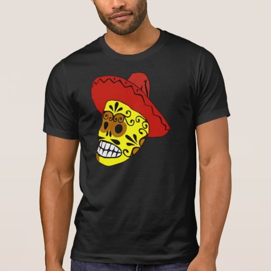 Decorated Candy Skull T-Shirt