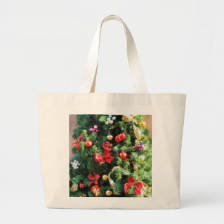 Decorated Christmas Tree Bags