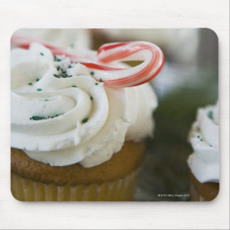 Decorated cupcakes mouse mat