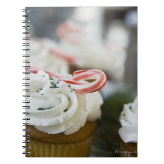 Decorated cupcakes note book