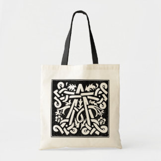 Decorated Initial A Bag