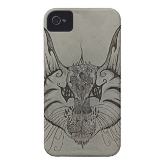Decorated Lynx iPhone 4 Case-Mate Case