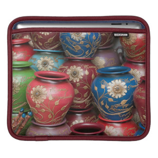 Decorated Pots, Huaraz, Cordillera Blanca iPad Sleeve