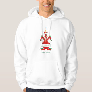 Decorated Welsh Christmas Dragon Hoodie