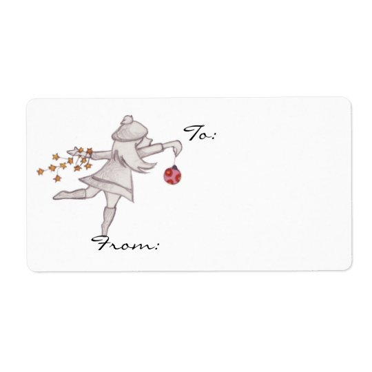 Decorating Gift tags Shipping Label