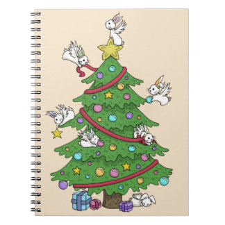 Decorating the Tree - Holiday Notebook