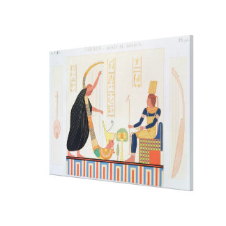 Decoration from the Room of the Harps, East Tomb, Canvas Prints