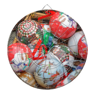 decorations for Christmas Dartboard