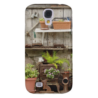Decorations on wooden fence, Catalina Island, Galaxy S4 Case