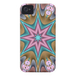 Decorative abstract case-mate with fantasy star iPhone 4 covers