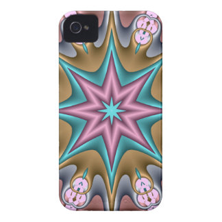 Decorative abstract case-mate with fantasy star iPhone 4 cases