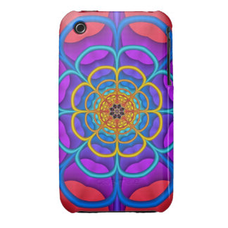 Decorative abstract Flower iPhone 3G/3GS Case iPhone 3 Case