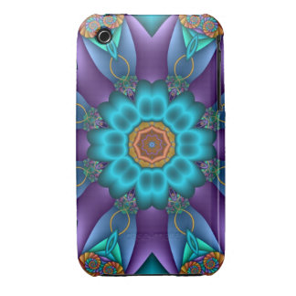 Decorative abstract iPhone 3 case