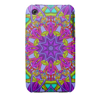 Decorative abstract iPhone 3 case-mate