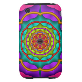 Decorative abstract iPhone 3G/3GS Case-Mate Tough™ iPhone 3 Tough Case