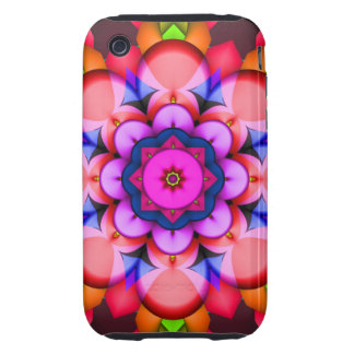Decorative abstract iPhone 3G/3GS Case-Mate Tough™ iPhone 3 Tough Cover