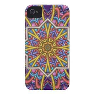 Decorative abstract iPhone 4 case Evening Star