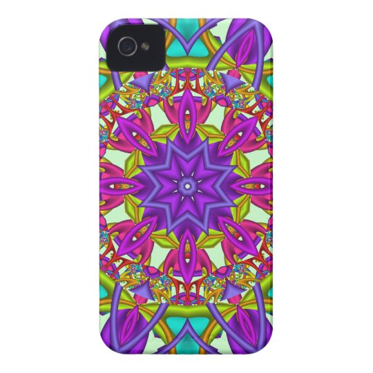 Decorative abstract iPhone 4 case-mate
