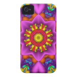 Decorative abstract iPhone 4 case-mate case