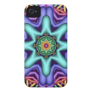 Decorative abstract iPhone case with trendy colors