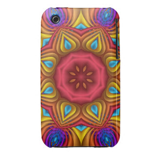 Decorative abstract kaleidoscope Case-Mate iPhone 3 case