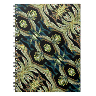 Decorative Abstract Notebook Design