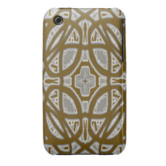 Decorative abstract pattern iPhone 3 cover