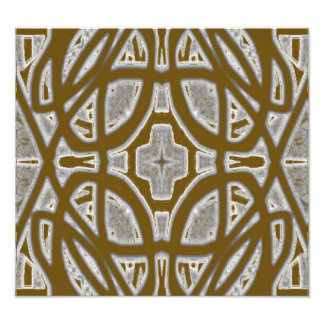 Decorative abstract pattern photo