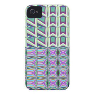 Decorative abstract patterns iPhone 4  case