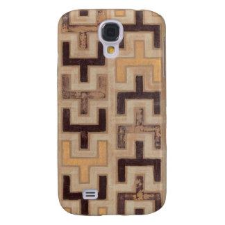 Decorative African Mudcloth Pattern Galaxy S4 Case