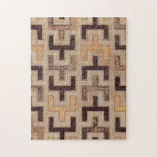 Decorative African Mudcloth Pattern Jigsaw Puzzle