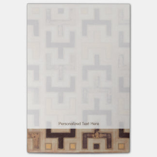 Decorative African Mudcloth Pattern Post-it Notes