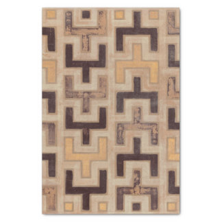 Decorative African Mudcloth Pattern Tissue Paper