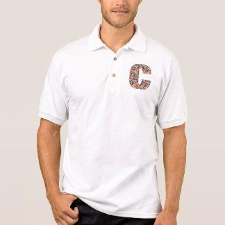 Decorative ALPHABET ART on Clothing ccc Tshirts