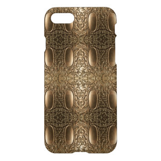 Decorative Antique Silver Gold Metallic Look iPhone 8/7 Case