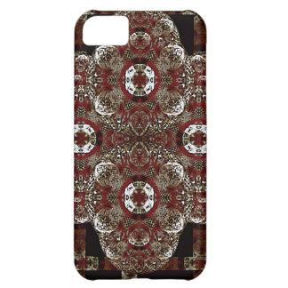 Decorative Arabesque Symbol Case For iPhone 5C