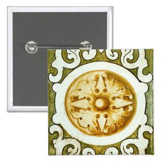 Decorative Art 15 Cm Square Badge