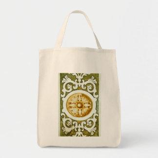 Decorative Art Grocery Tote Bag