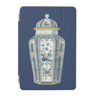 Decorative Asian Urn in Blue & White iPad Mini Cover