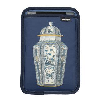 Decorative Asian Urn in Blue & White iPad Mini Sleeve