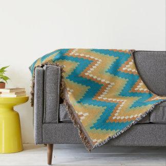 Decorative Aztec. Ethnic. Tribal. Throw Blanket